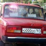 Самые красивые номера на авто в Ростове-на-Дону замечены на Жигулях
