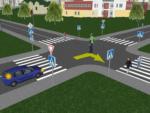 Лайфхак: как первым проехать перекрёсток, двигаясь по второстепенной дороге