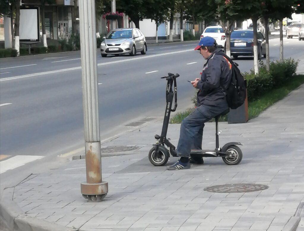 Электросамокат в Ротсове-на-Дону