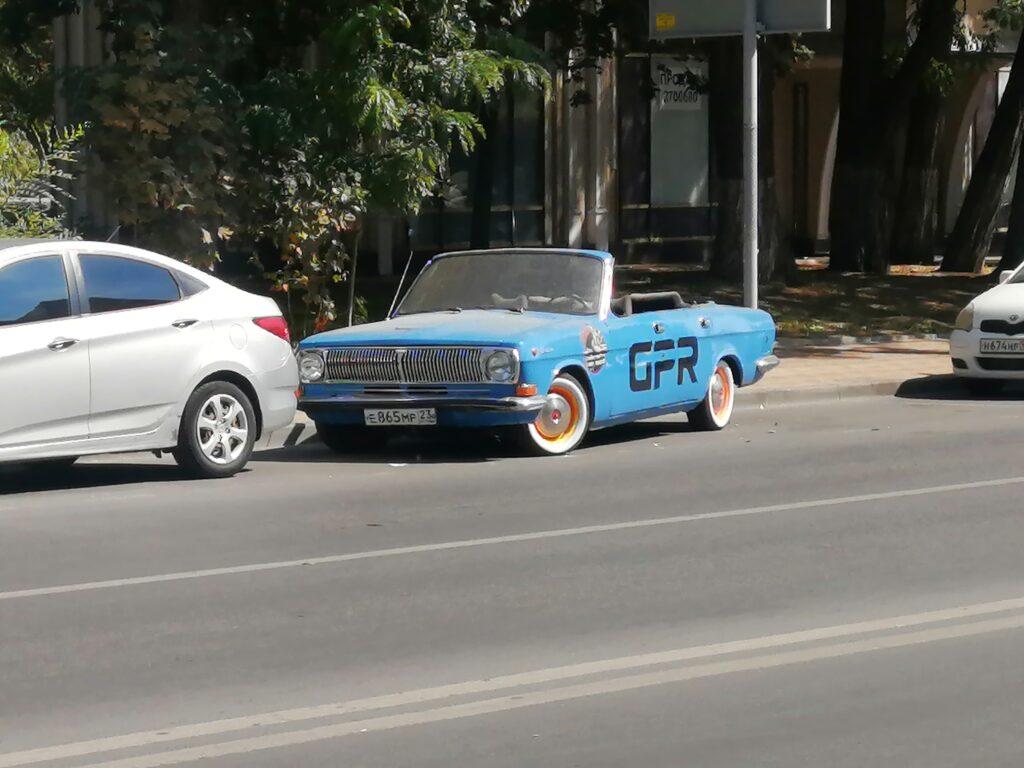 волга кабриолет